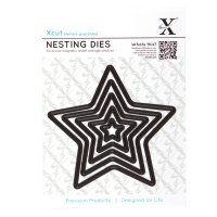 Plantillas Xcut- Stars - 5 pcs