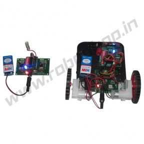 RF Controlled Manual Robot Product Code: RS-3009 Availability: In Stock Price: Rs. 2,500.00  http://www.roboshop.in/robotic-kits-with-tutorials/rf-controlled-manual-robot