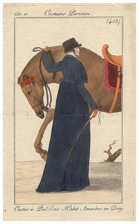 Costume parisien, an 11