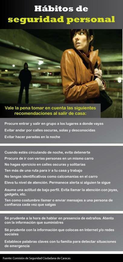 Hábitos de Seguridad Personal