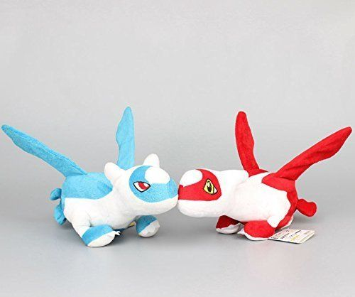 Plush Figure: Pokemon Latias Latios 12 Inch Toddler Stuffed Plush Kids Toys 2 pcsset by kidsheaven * Check out this great product.