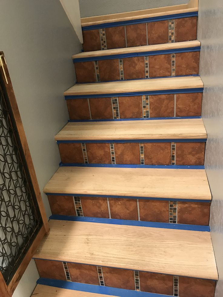 Best Stair Remodel Images On Pinterest Ladder Staircases And - Bullnose stair step tile