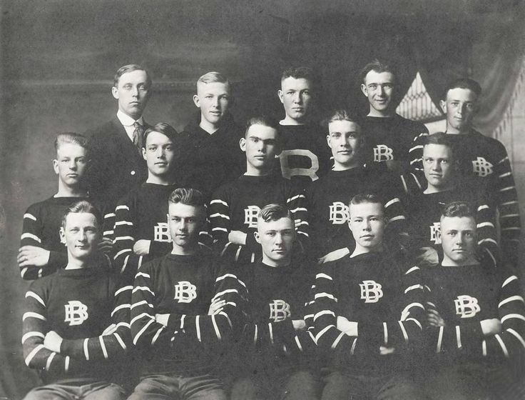 Broken Bow High School football team......1918/19