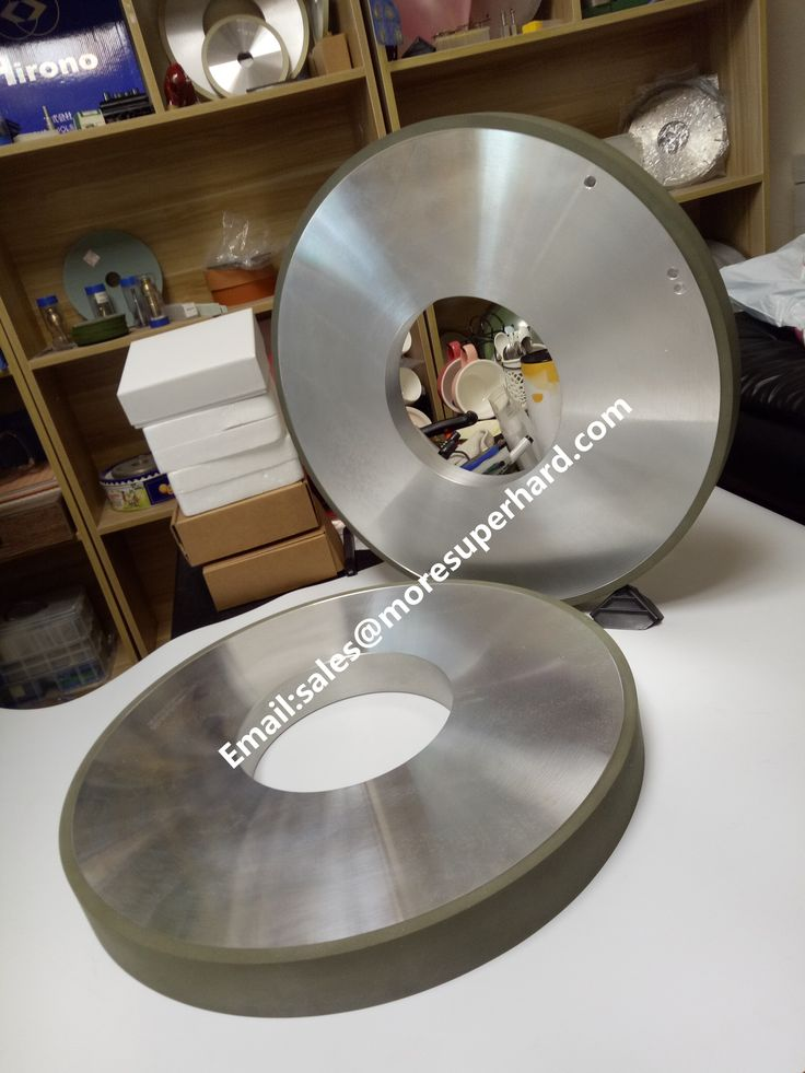 resin diamond grinding wheel for HVOF carbide thermal spraying industry. sales@moresuperhard.com
