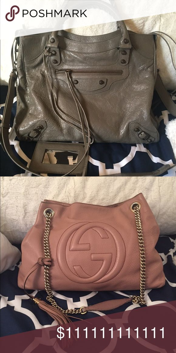 Balenciaga Velo Still trying to decide if I wanna sell this baby. I don't really use her as much as I used to, it's in amazing condition and comes with all of the cards and dust bag Balenciaga Bags