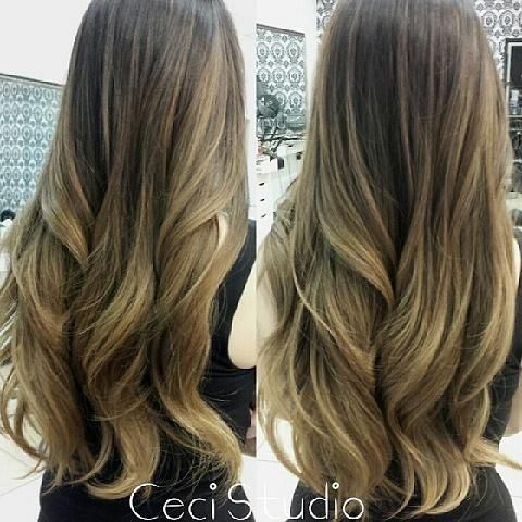 soft honey blond Balayage ombre | Hairstyles for Long Hair ...