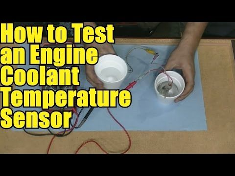 How to Test an Engine Coolant Temperature Sensor Using a