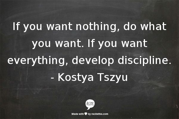 if you want nothing, do what you want. if you want everything, develop discipline. #warriorarchetype #archetypalbranding #archetypes