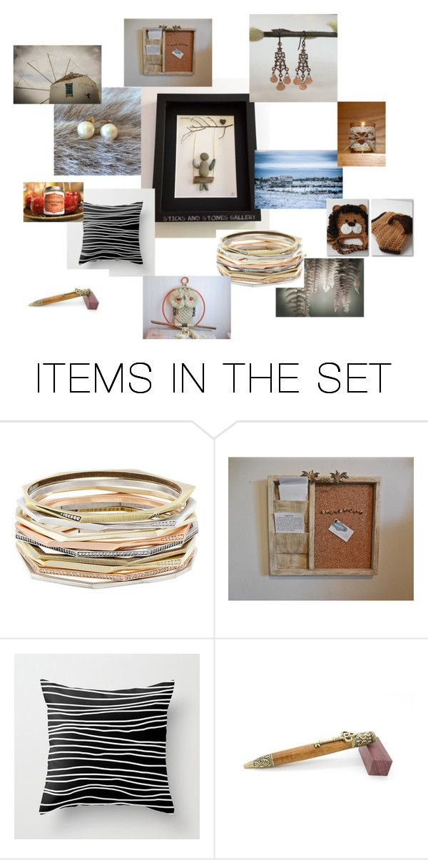 """""""Finders Keepers"""" by sticksandstonesgallery on Polyvore featuring art"""