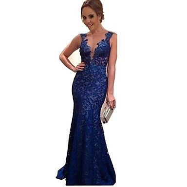 Women's Sexy Backless Sleeveless Lace Party Dress – BRL R$ 74,07