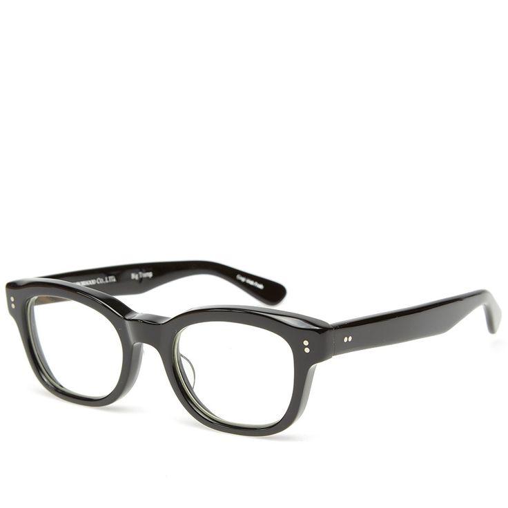 Neighborhood x Effector Big Tramp Glasses (Black & Clear)