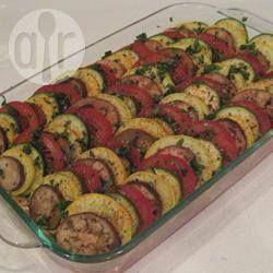 Zdjęcie do przepisu: Tian - czyli warzywna zapiekanka