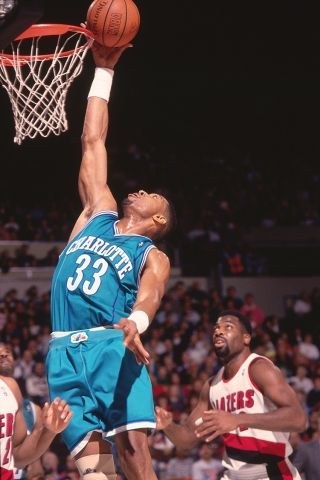 Alonzo Mourning / Charlotte Hornets, 1992–1995