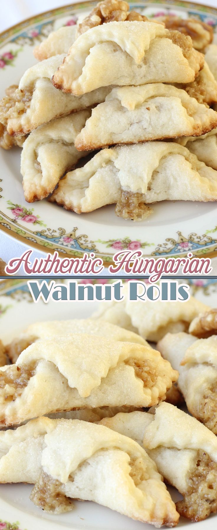 Authentic Hungarian Walnut Rolls                              …