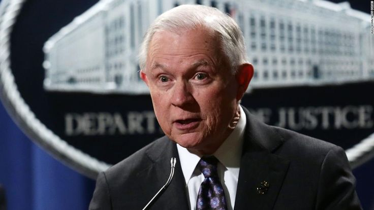 """Attorney General Jeff Sessions on Monday brought up sheriffs' """"Anglo-American heritage"""" during remarks to law enforcement officials in Washington."""