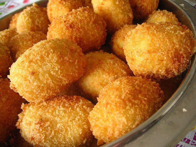 Simple Oven-Baked Potato Croquettes - A Vegan Blogging Extravaganza at The Flaming Vegan
