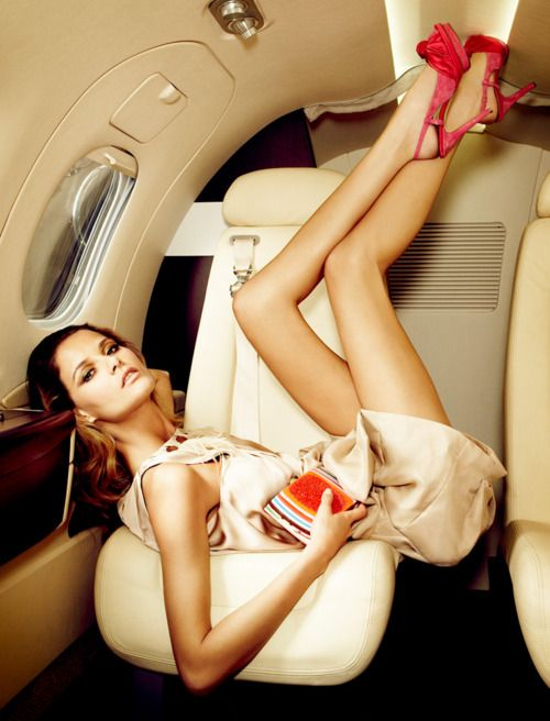 : Travel In Style, Airplane, Private Jets, Photos Shoots, Girls Fashion, Heels, Fashion Photography, Fashion Editorial, Dreams Life
