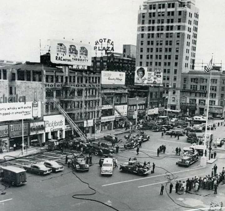 Hotel Holland Fire Late 50 S Or Early 60 S Jersey City City Travel