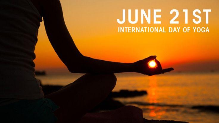 Happy International Yoga Day 21st June 2016  #Internationalyogaday #Yoga #yogaday