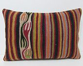 16x24 kilim lumbar pillow floor lumbar pillow long lumbar pillow burlap lumbar pillow large lumbar pillow kilim pillow lumbar pillow 28664