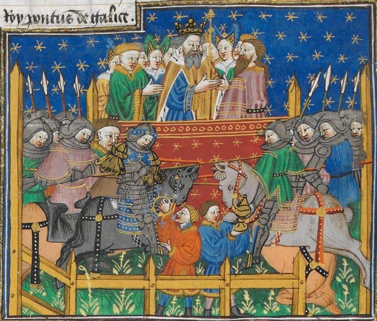 Poems and Romances (the 'Talbot Shrewsbury book') 1444-1445 Royal MS 15 E VI Folio 225r