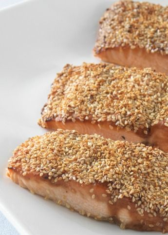 The crunchy crust of this sesame salmon recipe will for Fish sauce kroger