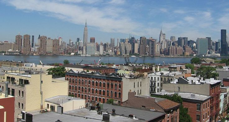 Ryan lives in Greenpoint, under the shadow of Manhattan's skyscrapers