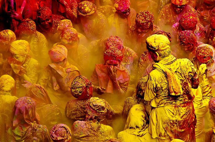 Festive Capture #Holi#spring#ritual#annual#India