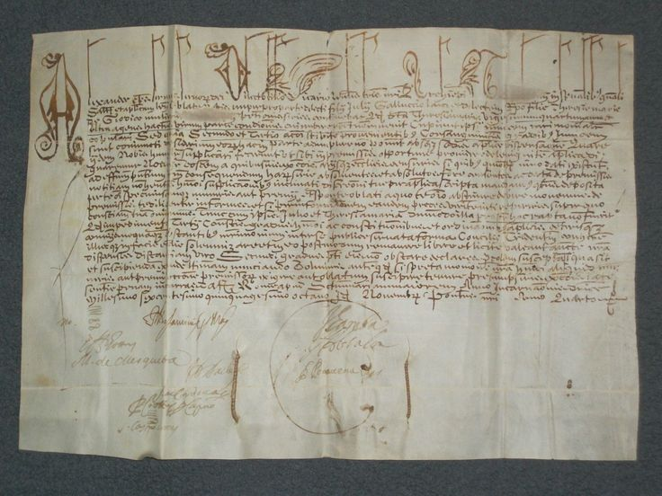 #antique RARE Vellum Document Papal Bull of Pope Alexander VII (Fabio Chigi), Dated 1658 please retweet