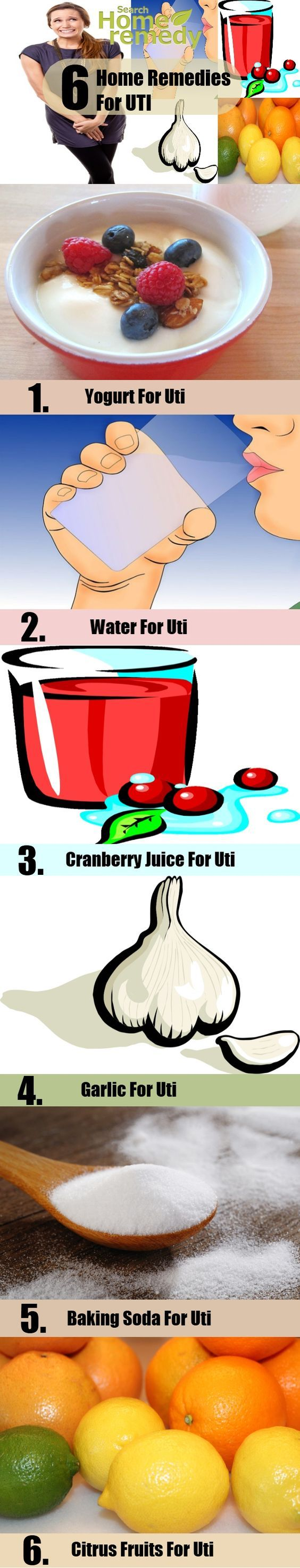how to clean urinary tract naturally