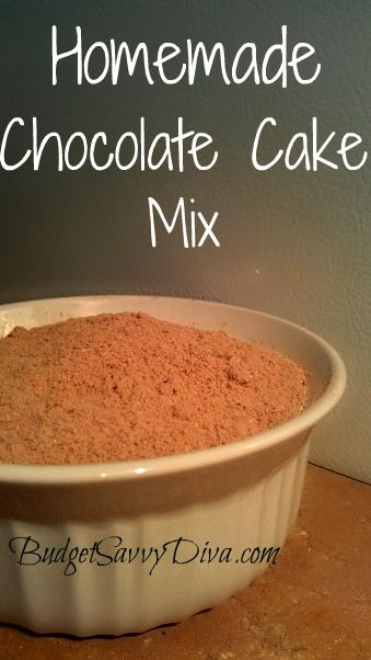 This is great for when recipes call for a box of cake mix and you don't want to use the crap!  Adjust to your own needs :o)