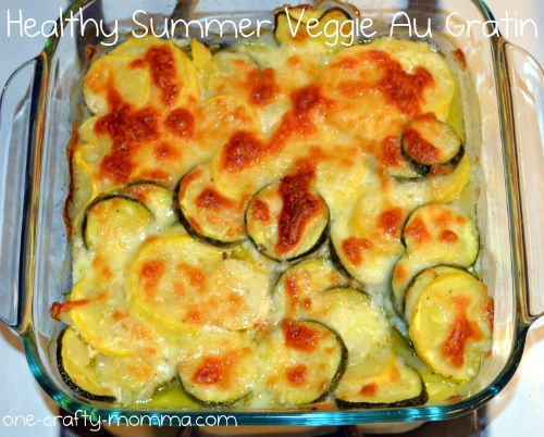 My new favorite veggie recipe! Perfect way to use up all the vegetables growing in your garden.