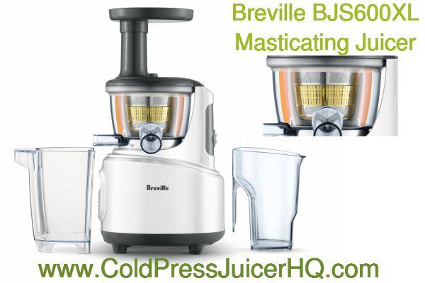 Breville BJS600XL Fountain Crush Slow Juicer Review