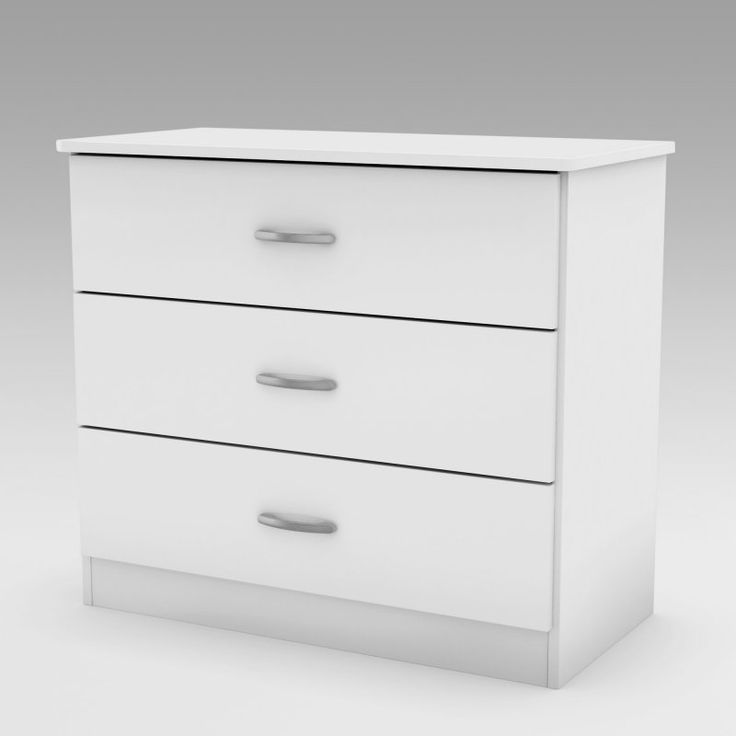 Step One 3-Drawer Chest - White - 3050033