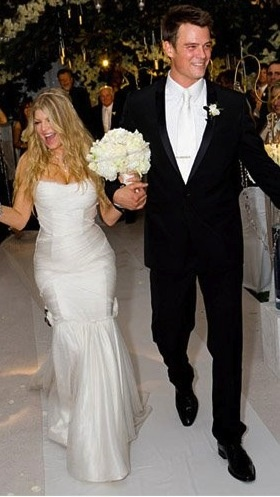 Josh Duhamel and Stacy Ann Ferguson (Fergie) wedding on January 10th, 2009