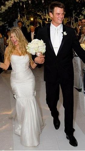 Josh Duhamel and Stacy Ann Ferguson (Fergie) wedding on January 10th, 2009