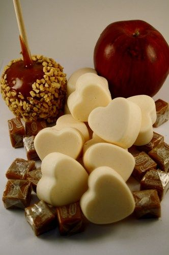 Caramel Apple Scented Soy Wax Melts - Soy Wax Tarts | blackberrythyme - Candles on ArtFire