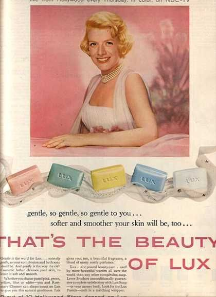 Lux Soap – Rosemary Clooney (1958)  aka George Clooney's Mother