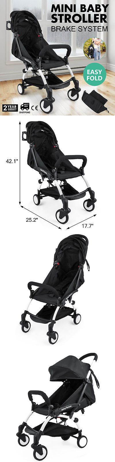 Other Stroller Accessories 180917: Mini Baby Stroller Travel System Small Pushchair Infant Carriage Flodable -> BUY IT NOW ONLY: $113.98 on eBay!