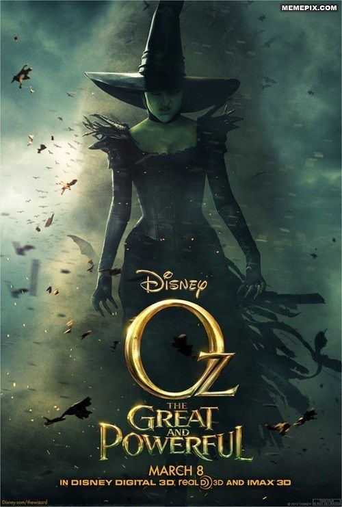 Teaser Poster: Oz, the Great and Powerful - MemePix