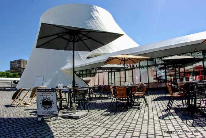 Restaurant La Colombe Niemeyer au Havre