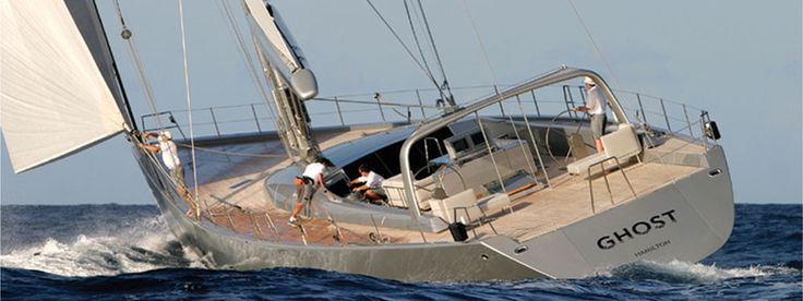 Iconic yachts: Ghost