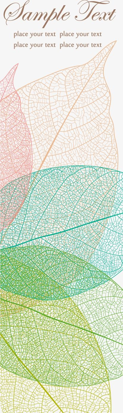leaves Texture Shading card