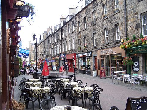 Rose Street, Edinburgh. Looks like exactly the neighborhood I'll want to visit.