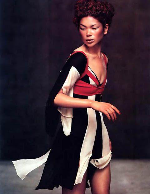 Asian glamour model