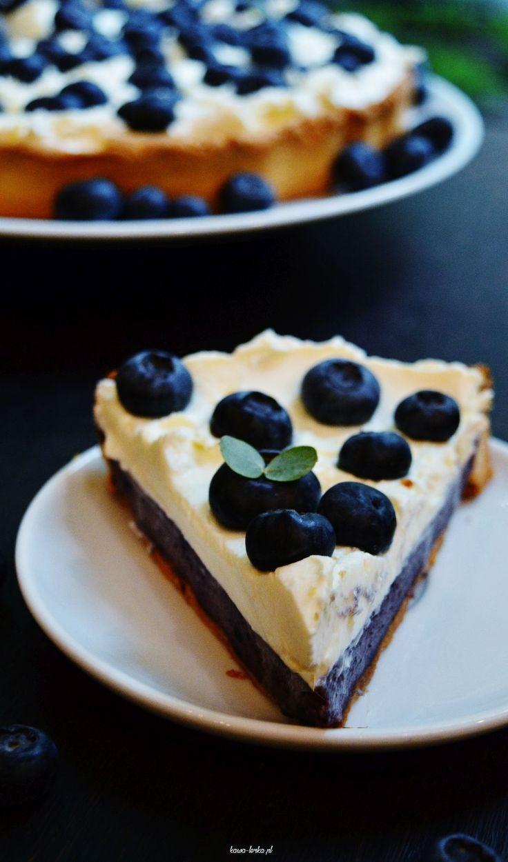 tajemniczy bór. tatra z borówkami. bluberry tart cake.
