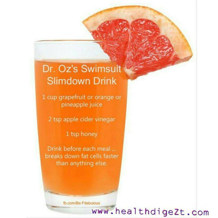 Dr oz slimming drink : #1 Detox Body