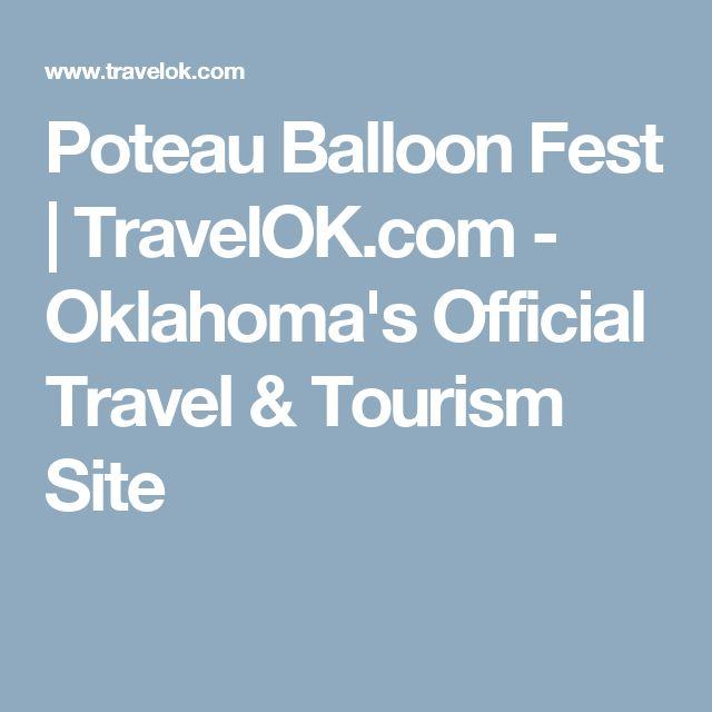 Poteau Balloon Fest   TravelOK.com - Oklahoma's Official Travel & Tourism Site