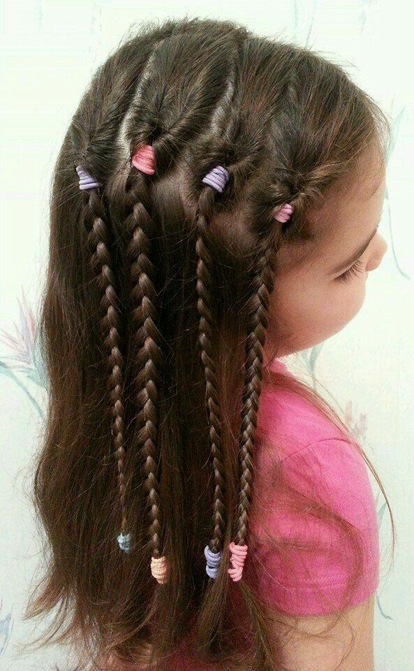 Cute Easy Hairstyles For School 165 Best Hairstyles For Girls Images On Pinterest  Girls Hairdos