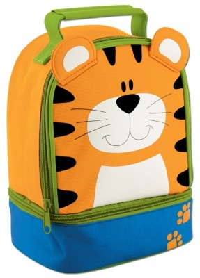 Pack your kids lunch in this Tiger theme lunch boxes which are insulted to keep food warm.    http://www.babyoye.com/lunch-pals-tiger.html